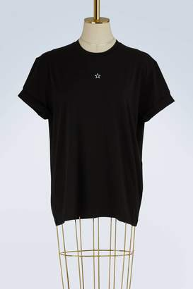 Stella McCartney Embroidered star cotton t-shirt