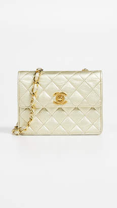 Chanel What Goes Around Comes Around Half Flap Micro Mini Bag
