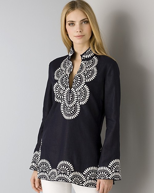 Tory Burch Embroidered