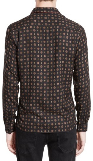 Men's The Kooples Piped Print Sport Shirt 4