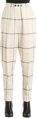 Vivienne Westwood Zoot Window Pane Wool Pants