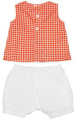 Marni Checkered Sleeveless Dress