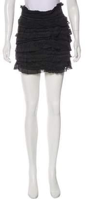 IRO Ruffled Mini Skirt