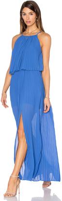 Line & Dot Amelie Pleat Dress $179 thestylecure.com