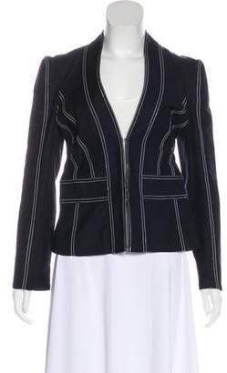 Diane von Furstenberg Fitted Casual Jacket