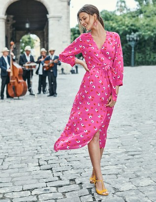 Boden Floris Wrap Dress