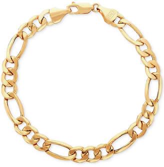 Italian Gold Men's Figaro Link Bracelet in 10k Gold