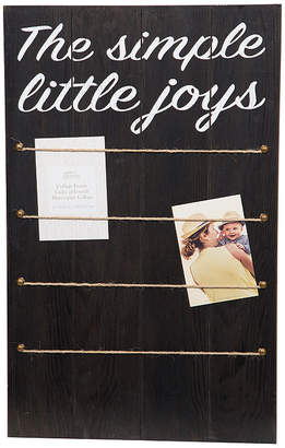 Asstd National Brand Simple Joys W/ Rope & Clips Collage Frame