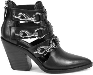 Rebecca Minkoff Seavie Buckle Ankle Boots