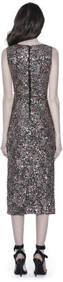 Alice + Olivia NATALIE SEQUIN MIDI DRESS