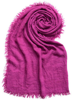 Lord & Taylor Distressed Solid Scarf