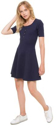 Juicy Couture Ponte Fit & Flare Dress
