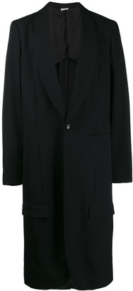 Comme des Garcons single-breasted coat