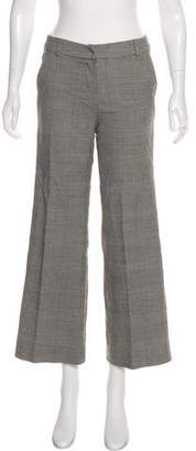 Christian Dior Patterned Mid-Rise Pants