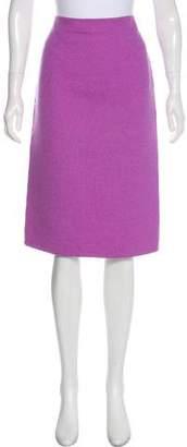 Michael Kors Knee-Length Wool Skirt