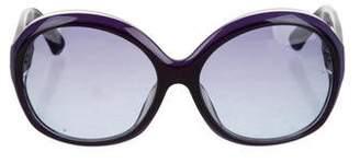 Emilio Pucci Tinted Oversize Sunglasses