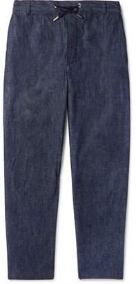 MAISON KITSUNÉ Denim Drawstring Trousers