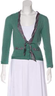 Marc by Marc Jacobs Marc Jacobs Striped Wool Cardigan