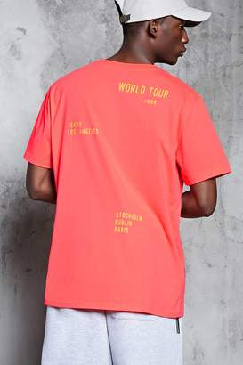 Forever 21 World Tour Graphic Tee