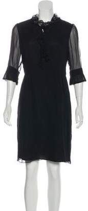 Max & Co. MAX&Co. Silk Knee-Length Dress