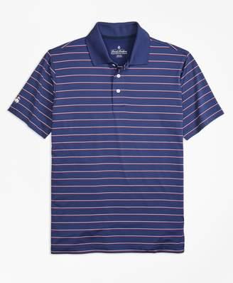 Brooks Brothers Performance Series Multi-Stripe Polo Shirt
