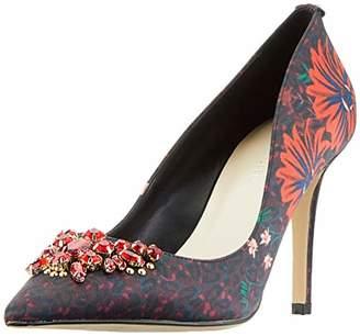 584dd94d883d Karen Millen Fashions Limited Women's Floral Leopard Court Shoes Closed Toe  Heels, (Multicolour 39