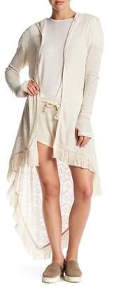 Peace Love World Tori Woven Knit Cardigan