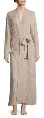 Arlotta Long Cable Cashmere Robe