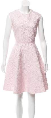 Giambattista Valli Sleeveless Matelassé Dress w/ Tags