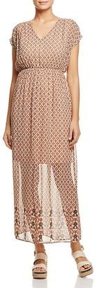 Vero Moda Nabia Print Maxi Dress $55 thestylecure.com