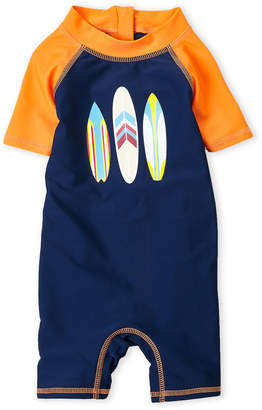 Floatimini Infant Boys) Surfboard Rash Guard Romper