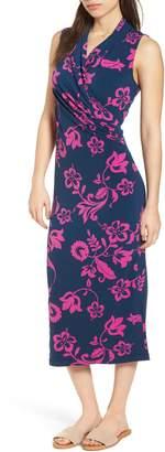 Tommy Bahama San Lucia Faux Wrap Midi Dress