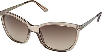 GUESS Women's Acetate Square/Soft Cat-Eye Sunglasses