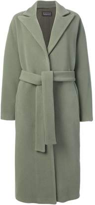Gianluca Capannolo belted single-breasted coat