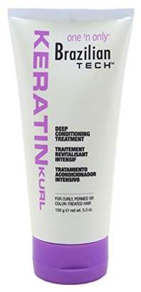 One 'N Only One N Only Brazilian Tech Condition Deep Treatment 5.3 Ounce (156ml)
