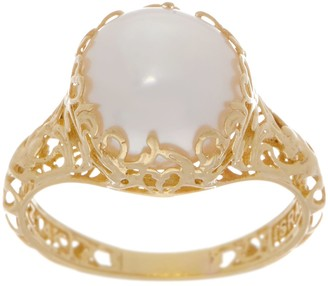 ADI Paz Cultured Pearl Filigree Ring, 14K