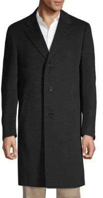 Canali Classic Wool & Cashmere Topcoat