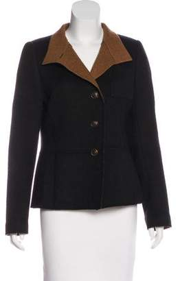 Akris Cashmere Stand Collar Jacket