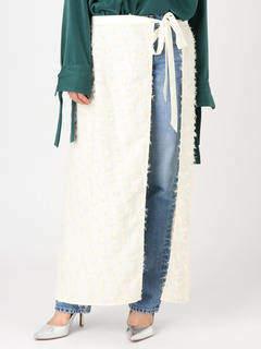 Ungrid (アングリッド) - ジャカードラップスカート