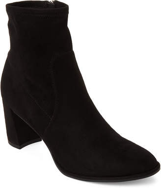 Marc Fisher Black Lizzy Ankle Booties