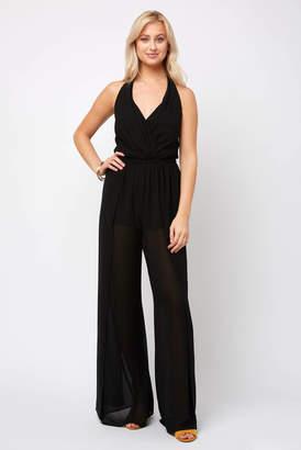 73ec3e58ac5 Show Me Your Mumu Delano Solid Black Jumpsuit