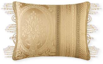 "J Queen New York Napoleon Gold 20"" x 15"" Decorative Pillow"