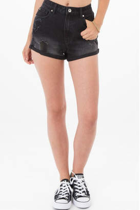 Others Follow Janis Distressed Shorts