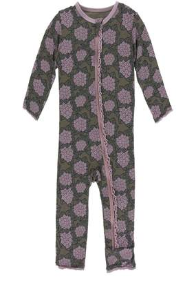 Kickee Pants Violets Zipper Coverall