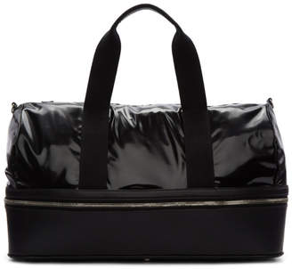 Maison Margiela Black Vinyl Zip-Around Duffle Bag