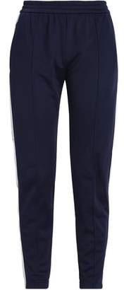 MSGM Printed Stretch-Knit Track Pants