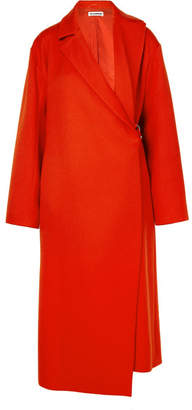Jil Sander Wool-blend Coat - Red