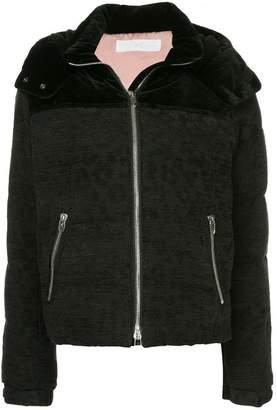 Roarguns hooded bomber jacket