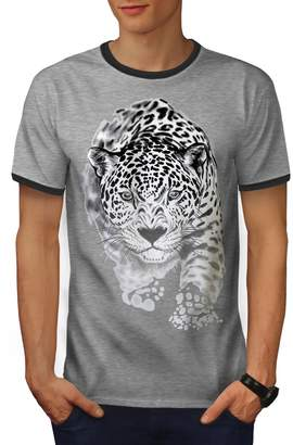 Puma Wellcoda Cougar Killer Men S Ringer T-Shirt