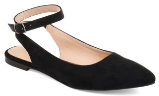 Brinley Co. Womens Sling-back Ankle Strap Flat